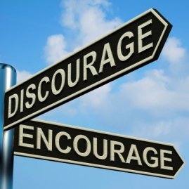 Encourage/Discourage Image by Stuart Miles