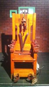 Electric Chair at the Texas Prison Museum