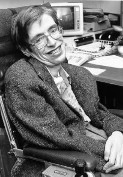 NASA StarChild image of Stephen Hawking By NASA [Public domain], via Wikimedia Commons
