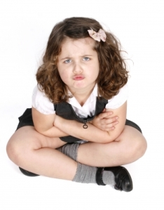 Grumpy Child by Clare Bloomfield via freedigitalphotos.net