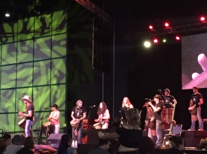 Tuatha Dea on stage
