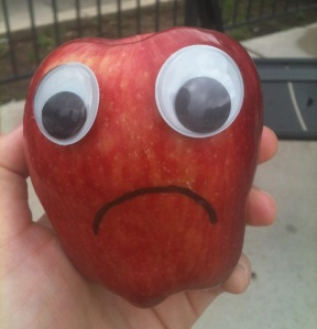 sad apple by sophisticat at morguefile